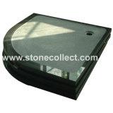Coupe de haute qualité de douche en granit (Shanxi Black)
