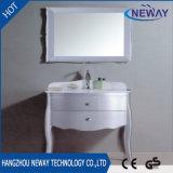 Cabinet de toilette de salle de bain classique de nouveaux meubles en bois