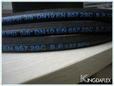좋은 품질 En857 1sc 철사 땋는 유압 호스