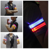 LED pulsera intermitente, pulsera LED Correr, productos nuevos Brazalete LED personalizado para la decoración del partido pulsera LED