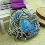 カスタムデザインの旧式な銀によってめっきされるロシアの銀メダル