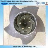 Le titane /Rotor de pompe à Durco en acier inoxydable faite par moulage à modèle perdu