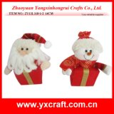 Preparación del regalo de la Navidad de la Nochebuena de la decoración de la Navidad (ZY13L317-1-2 el 16CM)