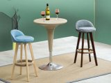 바는 착석시킨다 의자 현대 작풍 단단한 나무로 되는 발판 (M-X2050)를