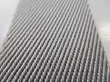 40mm Gris Sarga Webbng nylon para prendas de vestir y accesorios