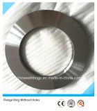 El borde de placa de acero inoxidable forjó el anillo sin orificios
