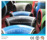 O aço de liga de ASTM P11 P22 P5 Elbows os encaixes de tubulação