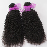 100% virgen peruana cabello rizo rizado el cabello de color natural tejido