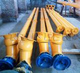 Planta de concreto com cálculo de transportador de parafuso de lâmina de 219 mm