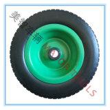 rotella di derivazione del carrello del vagone del pneumatico della gomma piuma dell'unità di elaborazione del mozzo 10X3.00-6