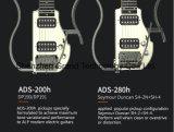 新しいデザインポータブルの走行の頭のないギター