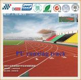 pista corriente al aire libre de la PU de 13m m para los lugares de deportes