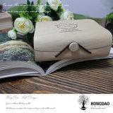 Hongdao Balsabaum-hölzerner sehr dünner Baum-Barke Macarons Verpackungs-Kasten Wholesale_C