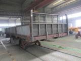 Cargo de Chhgc 3axle/semi-remolque de la cerca con el tipo plano pared lateral