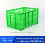 Cassa di plastica della verdura della maglia di agricoltura del commestibile