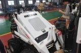 농장과 정원사 노릇을 하기를 위한 소형 미끄럼 수송아지 로더 Hy380