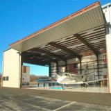 Vor ausgeführtes Stahlkonstruktion-Gebäude verschüttet für Flugzeugwartung