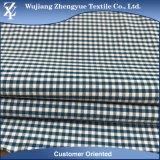 De Stof van Elastane van de Polyester van het Kation van de Rek van de Plaid van het geruite Schotse wollen stof voor de Eenvormige Broeken van Vrouwen