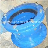 Fundição ISO9001 que manufatura o encaixe de tubulação Ductile do ferro de molde