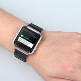 En acier inoxydable de bande magnétique milanais montre-bracelet antistatique pour châssis Fitbit Blaze +