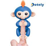 작은 물고기 대화식 아기 원숭이 소형 지능적인 센서 핑거 장난감