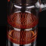 De 2-laag van het Glas van de Waterpijp van het glas de Duidelijke Rode Vanger van Percash van de Schijf