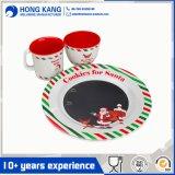 La mélamine Santa vaisselle Set avec 2PCS