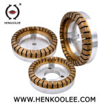 Спецификация для матирования Bullnose нескольких алмазного шлифовального круга для стекла