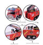 子供のためのスプレー水銃のおもちゃのトラックの消防士のサムの普通消防車の手段車音楽ライト涼しい教育おもちゃ