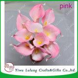 Borgoña Calla Lily Flores de boda flor distribuidor Artificial