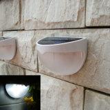 반원 정원 빛 LED 태양 벽 빛
