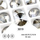 Pietra operata di cristallo posteriore indicata materiale K9 per i risultati dei monili