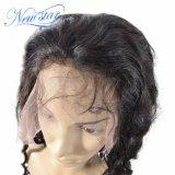 Capelli umani dell'onda 130% di densità della parrucca piena naturale indiana all'ingrosso del merletto