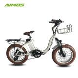 [أيموس] [20ينش] إطار العجلة سمين يطوي كهربائيّة درّاجة [48ف] [500و] درّاجة مريحة [إبيك]