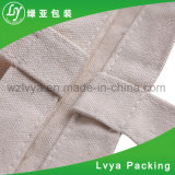 Normaux blancs ou colorent le sac 100% de cordon de coton avec l'impression