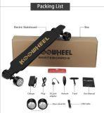 Koowheel Kooboard eléctrico de las cuatro ruedas de monopatín, madera de arce canadiense LG batería intercambiable, el cubo doble motor, el stock actual de L.. Almacén