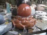 Fontana di acqua di galleggiamento della sfera della sfera del grande granito esterno per il giardino/iarda/plaza