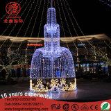 Свет украшения места большого напольного праздника 3D коммерчески для рождества