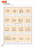 Фошань завод алюминиевых сплавов штампованный профиль поручни