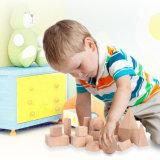 Giocattoli geometrici di legno dei capretti delle particelle elementari dei bambini di figura
