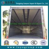 Camion chaud de Sinotruk Wing Opening Van Side Open de vente