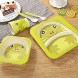 BPA освобождают Biodegradable комплект Dinnerware волокна Melaminetableware Bamboo