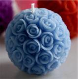 Букет роз мяч при свечах в парафин воск с 3% душистыми