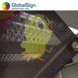 Clôture de la bannière de maillage en vinyle PVC avec oeillets