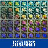 2D Autoadesivo su ordinazione olografico di obbligazione di vuoto di colore dell'argento di marchio del laser