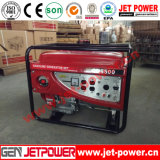 groupe électrogène portatif d'essence de générateur d'essence d'engine d'essence 5kVA