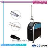 755nm 1064nm 532nm Picosekunde-Tätowierung-Abbau Q-Schalter Nd YAG Laser