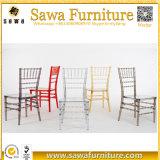 공장 가격은 Chiavari 의자 플라스틱 식사 의자 수지 Chiavari 의자를 지운다