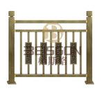 Villa de diseño de Arte Chino decorativos SUS304 la rampa de escaleras de acero inoxidable