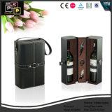 Verpakkende Doos van de Wijn van het Leer van Faux van de Douane van het Ontwerp van de Luxe van Classsic de Buitensporige (2388)